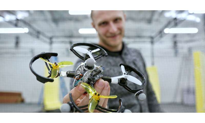 Advanced series of more robust drones are teaching themselves how to fly