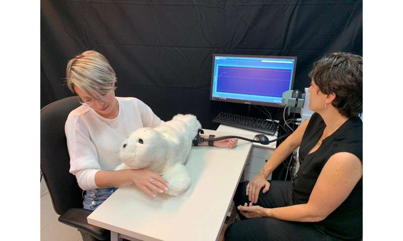 A furry social robot can reduce pain and increase happiness -- Ben-Gurion University researchers