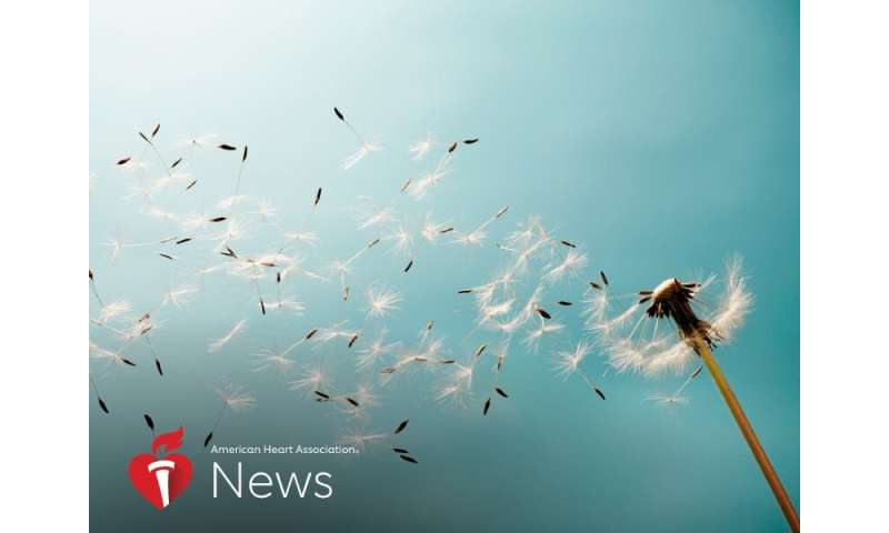 AHA news: A look at allergies and heart health, with tips to endure pollen season amid coronavirus fears