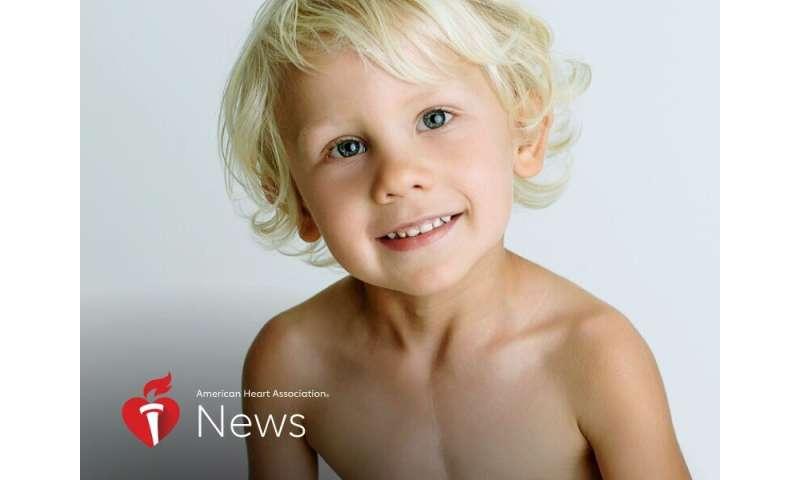 AHA news: boy with 'Half a heart' gets lifesaving transplant