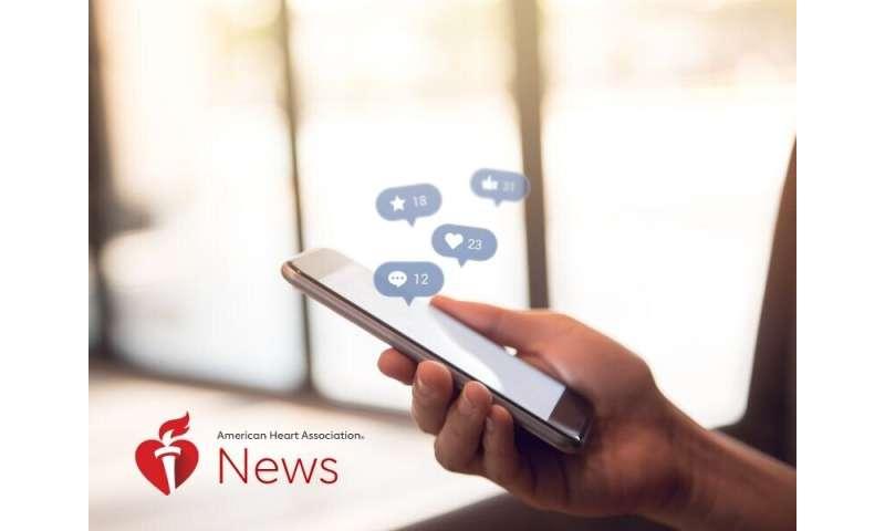 AHA news: can social media be good for your health?