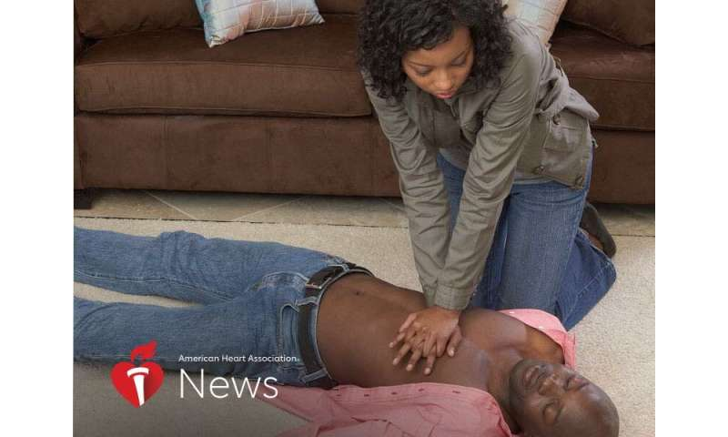 AHA news: cardiac arrest deaths are rising – especially among younger black adults