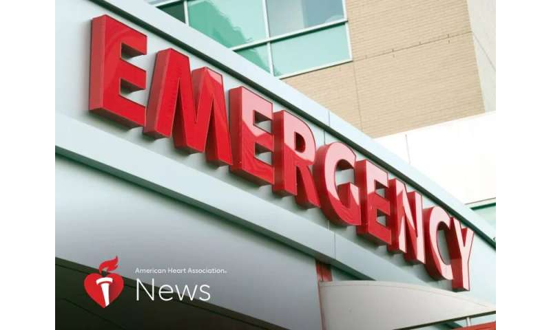 AHA news: health emergency? don't hesitate to get help