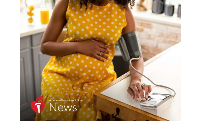 AHA news: how pregnant woman's high blood pressure can change shape of baby's heart