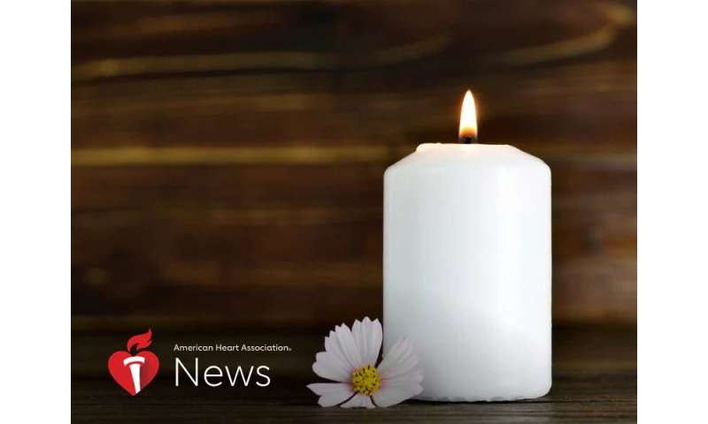 AHA news: sadness and isolation of pandemic can make coping with grief harder