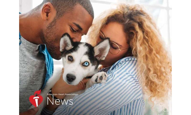 AHA news: these super sunday puppies aren't just adorable, they can be good for health
