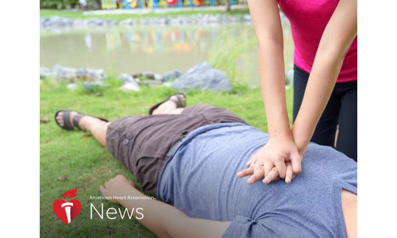 AHA news: what to know about bystander CPR and coronavirus risk