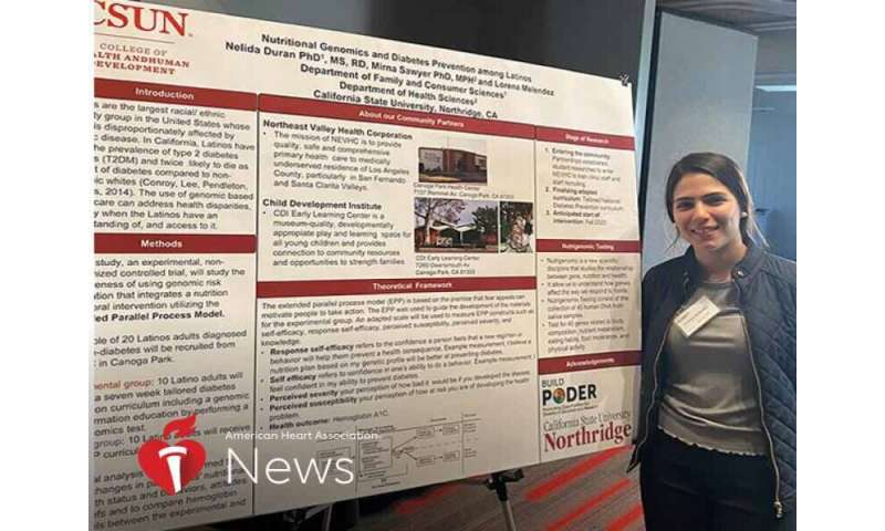 AHA news: young immigrant works to eradicate health gaps in her latino community