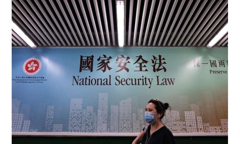 A  human rights watchdog says in a report that China is leading global efforts to suppress dissent with new technologies, often