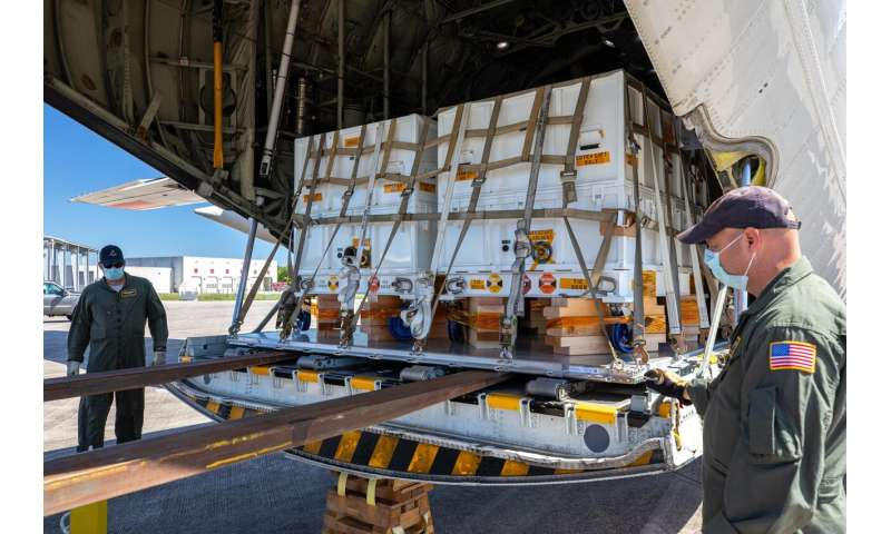 Air deliveries bring NASA's Perseverance Mars rover closer to launch