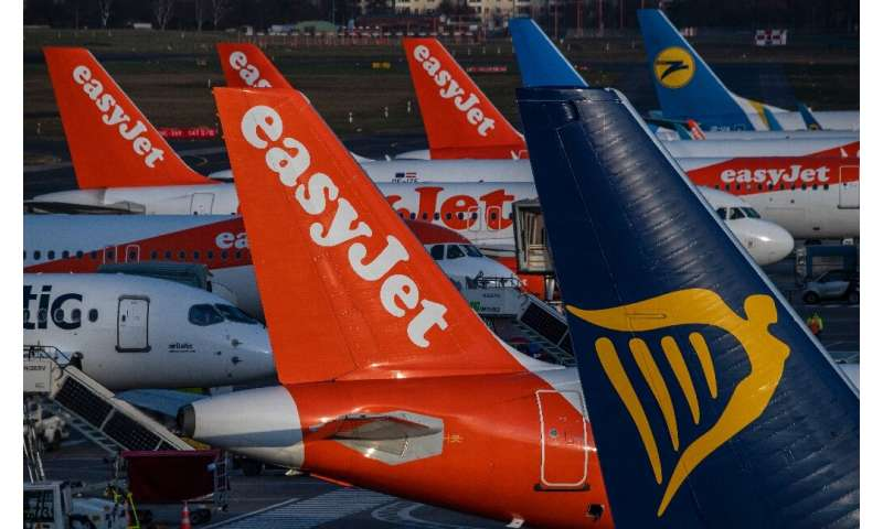 Airlines struggling with a collapse in bookings because of the new coronavirus have taken to flying empty planes to keep their a