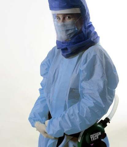 """""""Air-shield"""" improves effectiveness of doctors' protective masks"""