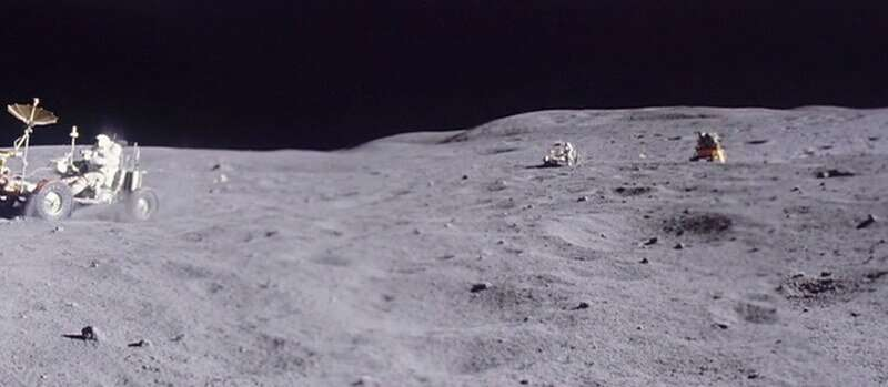 AI Upscales Apollo Lunar Footage to 60 FPS