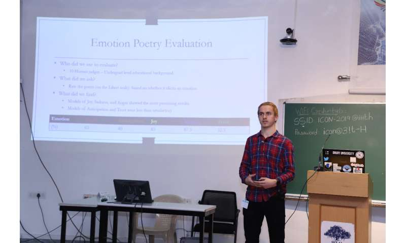 A language generation system that can compose creative poetry