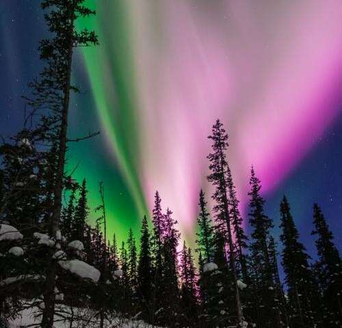 Alaskan seismometers record the northern lights