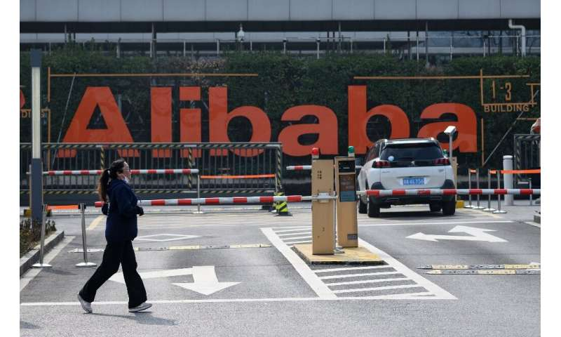 Alibaba's headquarters are inside one of three Hangzhou districts where some three million people were told this week that only