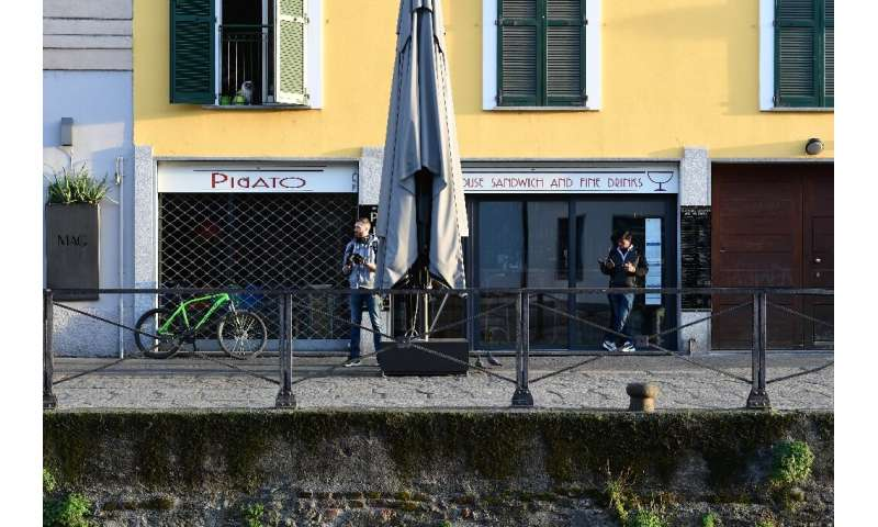All restaurants and bars across Italy have to shut by evening and can only offer home deliveries
