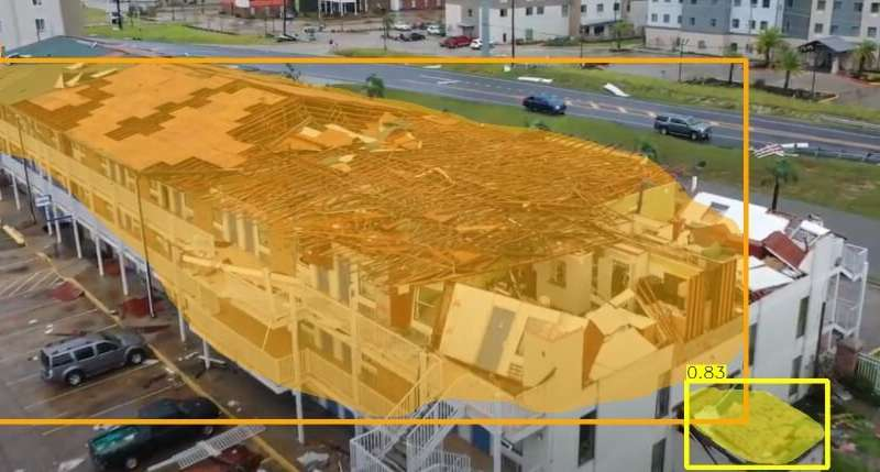Amateur drone videos could aid in natural disaster damage assessment