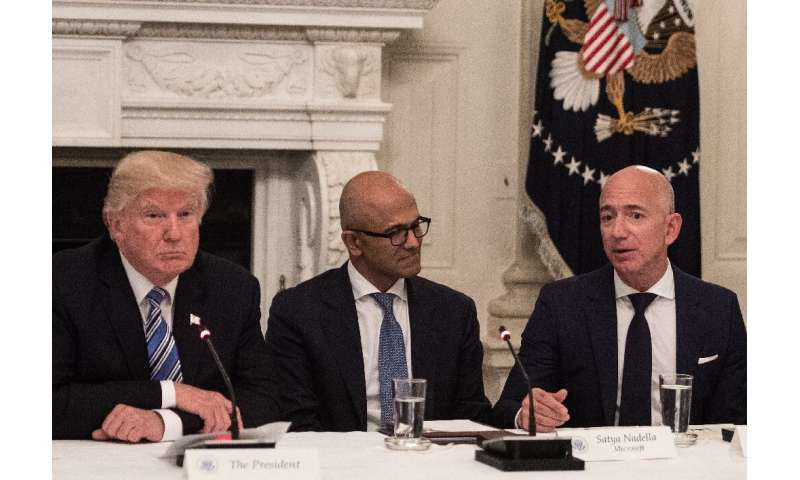 Amazon argues it was shut out of the Pentagon deal because of President Donald Trump's vendetta against the company and its chie