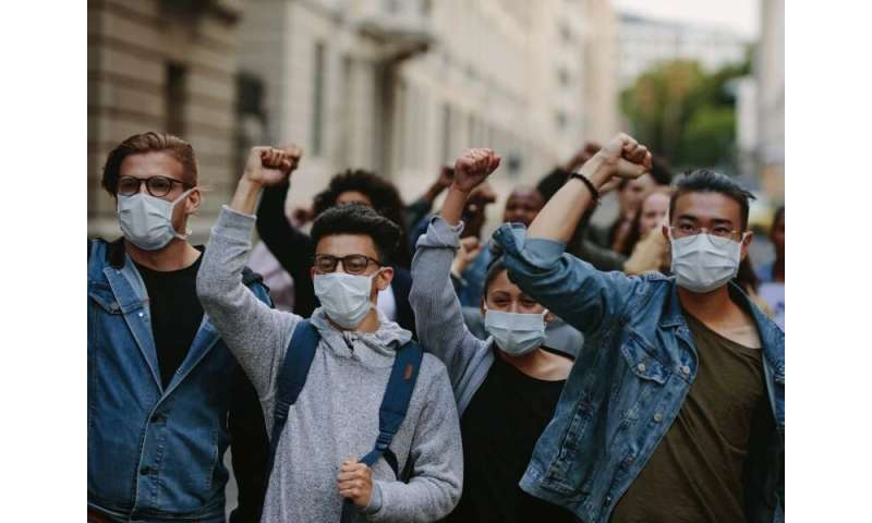 Amid pandemic, protest peacefully while staying healthy
