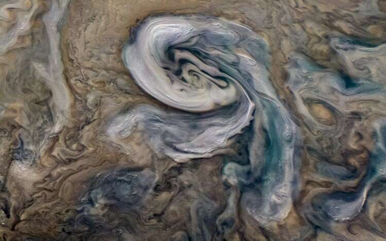 Ammonia-rich hail sheds new light on Jupiter's weather