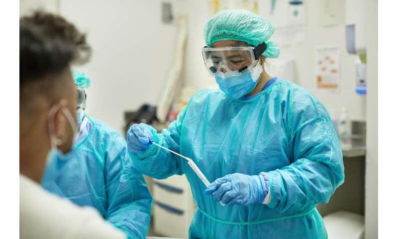 مقدار RNA ویروسی COVID که در هنگام بستری شدن در بیمارستان تشخیص داده می شود ، وضعیت مالی بیماران را پیش بینی می کند