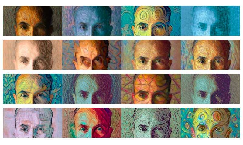 An AI painter that creates portraits based on the traits of human subjects