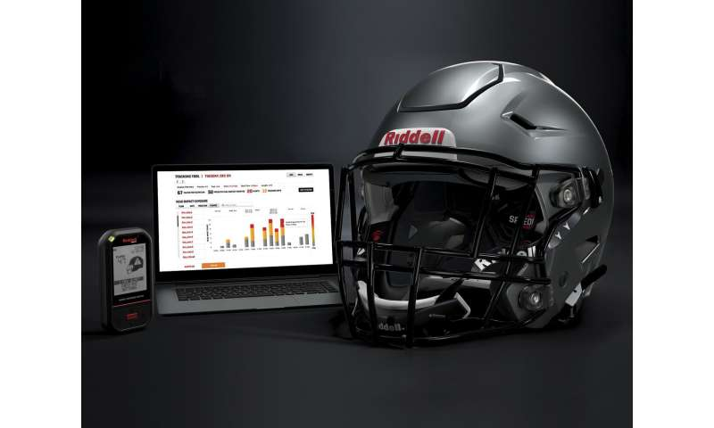 Analytics and data collecting spur helmet safety in football