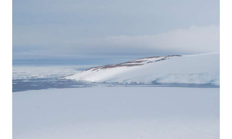 Ancient Adelie penguin colony revealed by snowmelt at Cape Irizar, Ross Sea, Antarctica