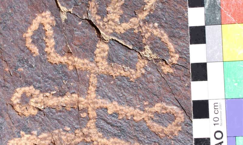 Ancient mantis-man petroglyph discovered in Iran