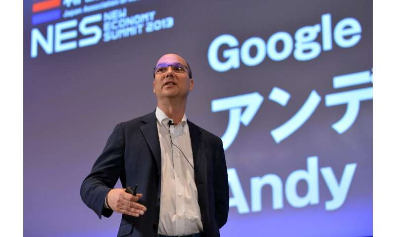 Andy Rubin—seen here in Japan in 2013 during his tenure at Google—founded smartphone startup Essential Products, but the company