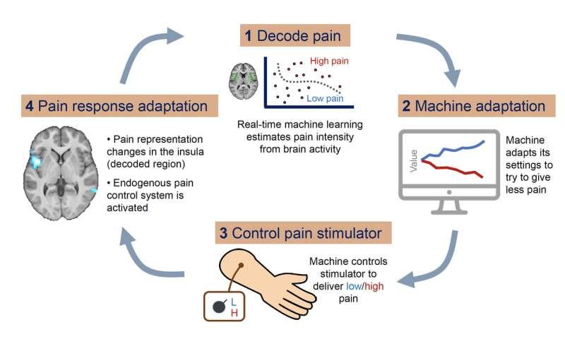 A new neurofeedback strategy to treat pain