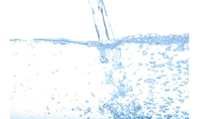 A new way to research water