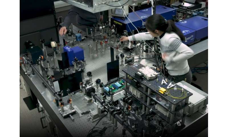 A non-destructive method of analysing molecules in cells