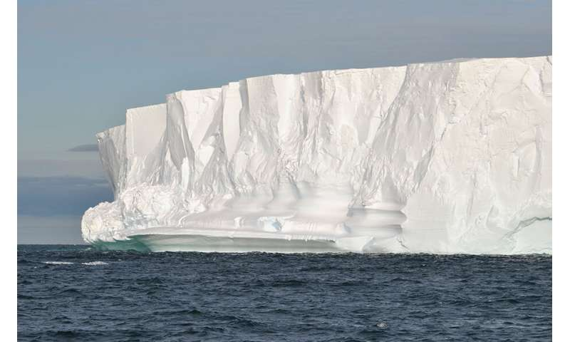 Antarctic ice walls protect the climate