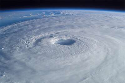 Application of machine learning can optimize hurricane track forecast