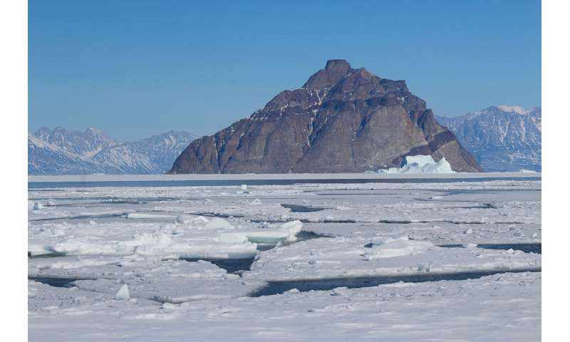 Arctic 'shorefast' sea ice threatened by climate change, study finds