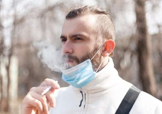 Are smokers more likely to catch COVID-19?