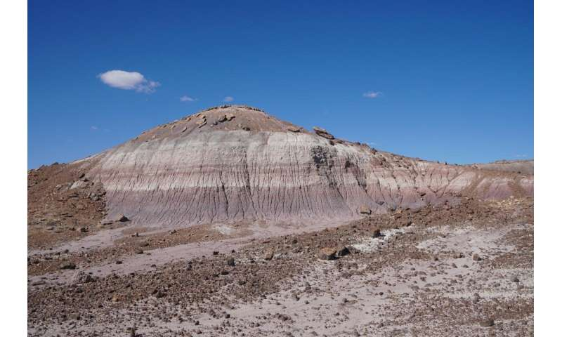 Arizona rock core sheds light on triassic dark ages