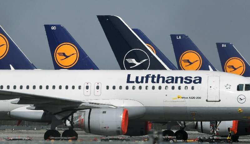 Around 700 of Lufthansa's roughly 760 aircraft are currently parked at airports and more than 80,000 of its 130,000 staff are on