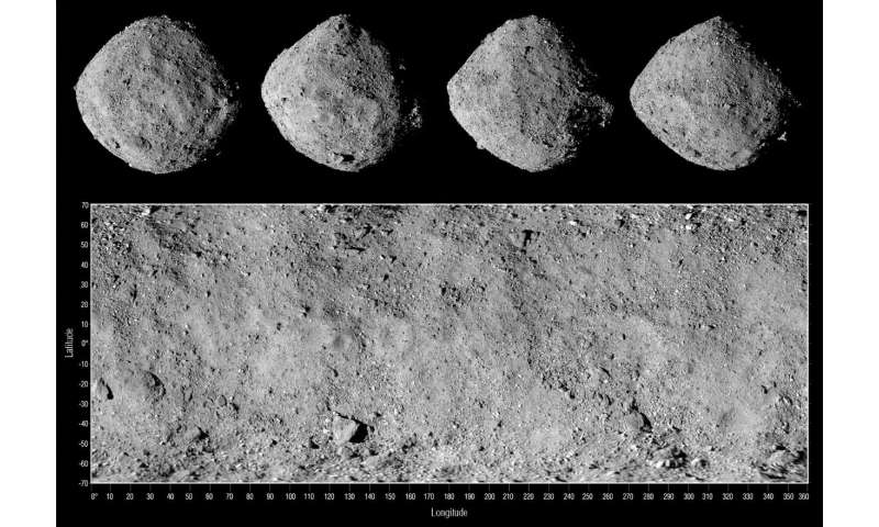 Asteroid's scars tell stories of its past