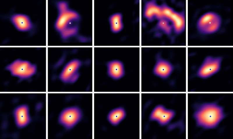 Astronomers capture rare images of planet-forming disks around stars