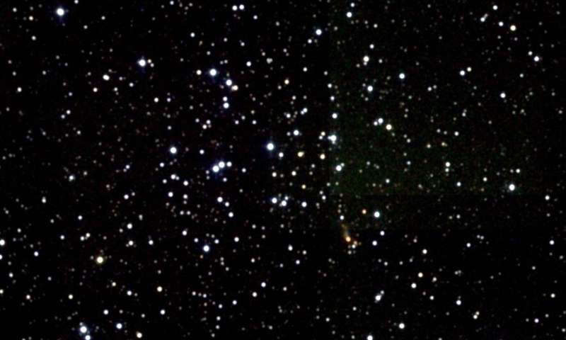 Astronomers perform a comprehensive study of young open cluster NGC 1960