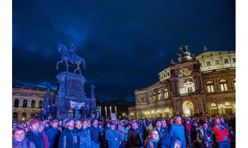 Germany shuts down as new virus curbs spur anger and frustration thumbnail