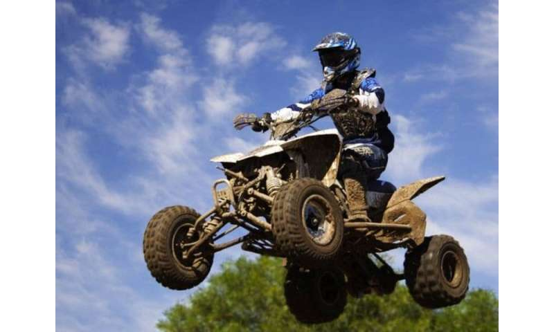 ATV vehicles a danger on paved roads, and at night