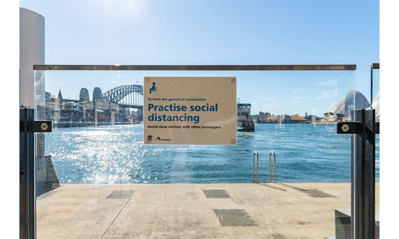Australians 'do the right thing' when following COVID-19 advice