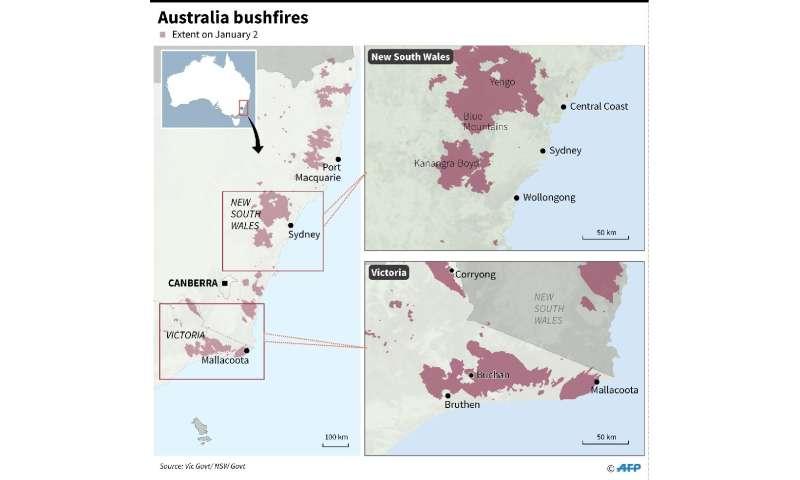 Australia orders evacuation of fire-ravaged towns before heatwave