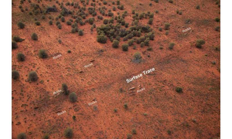 Australia's ancient geology controls the pathways of modern earthquakes