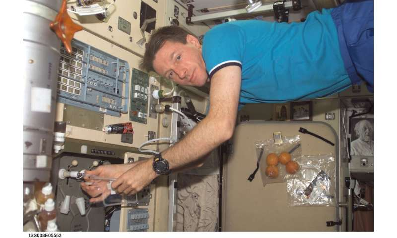 Bacteria on the International Space Station no more dangerous than earthbound strains