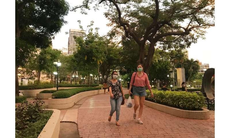 Bangkok's parks reopen as coronavirus restrictions eased